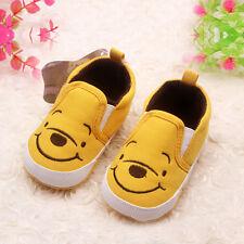 Baby Kids Soft Sole Shoes Prewalker Newborn Infant Toddler Slip-On Flats Shoes