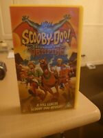 Scooby Doo And The Legend Of The Vampire VHS Video