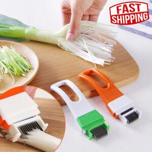 1pcs Vegetable Cutter slicer chopper Scallion Kitchen knife Shred Cooking Tools