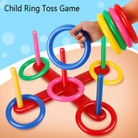 Hoop Ring Toss Plastic Garden Game Pool Toy Outdoor Toys for ChildrenONSJUKLDU_X