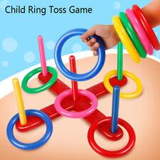 Hoop Ring Toss Plastic Garden Game Pool Toy Outdoor Toys for ChildrenONSJUKQA