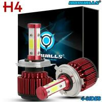 For Nissan Navara D22 D40 H4 9003 CREE LED Headlight Bulbs vs HID Xenon Halogen