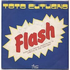 TOTO CUTUGNO - Flash - VINYL 45 GIRI