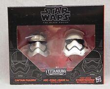 Star Wars Black Series Metal Helmets - Captain Phasma - Stormtrooper - Wave 1