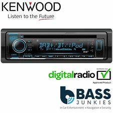 Kenwood KDC-BT720DAB Single Din  DAB Bluetooth AUX USB CD MP3 iPhone Car Stereo