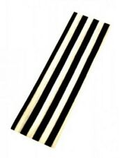 Unisex Black & White Striped Headband Bandeaux - Brand New