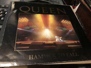 Queen Hammer To Fall Rare Uk Withdrawn Live Sleeve 12 Very Rare