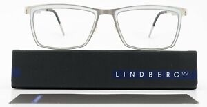 Lindberg Glasses 9703 56-18 145 05 Strip Titanium Gray Large Frame Denmark +