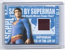 TOPPS Superman Returns VARIANT authentic genuine Briefs costume material card