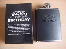 JACK DANIELS 4oz  BIRTHDAY  HIPFLASK