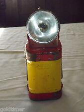 VINTAGE RAILROAD  LANTERN  LAMP LIGHT JUSTRITE FLASHLIGHT