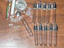 Findings 1 Keepsake fill fairy gem goth glass tube bottle wholesale discounted