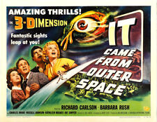 "It Came from Outer Space  Movie Poster Replica 14 x 11"" Photo Print"