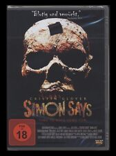 DVD SIMON SAYS - FSK 18 HORROR - TIME TO HAVE SOME FUN - CRISPIN GLOVER * NEU *