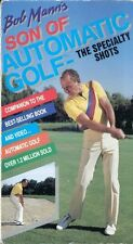 BOB MANN'S Son of AUTOMATIC GOLF THE SPECIALTY SHOTS vhs