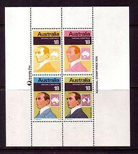 AUSTRALIA 1976 Stamp Week min sheet MUH