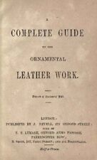 A Complete Guide to the Ornamental Leather Work by J. Revell – Book on CD