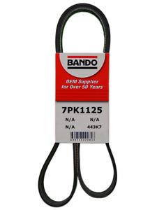 BANDO 7PK1125 OEM Serpentine Belt Fits 2012-2017 VERSA , 2014-2017 VERSA NORTE
