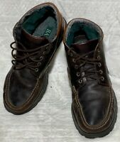 MENS VINTAGE BASS BROWN LEATHER HIKING Dress work BOOTS SIZE 12M Renegade 2n17