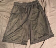 Boys Starter Size L 10-12 Green And Gray Shorts