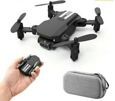 2020 New Mini Drone 4K 1080P HD Camera WiFi Fpv Air Pressure Altitude Hold Black