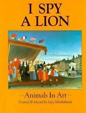 I Spy a Lion: Animals in Art-ExLibrary