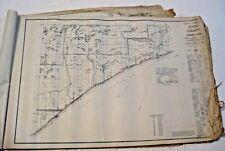 ORIGINAL OFFICIAL VINTAGE 1936 MINNESOTA COUNTY GENERAL HIGHWAY MAPS SET