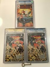 Caliber Presents #1 x's 2 & Harbinger #1 CGC 9.8 Signed 1st Crow & Harbinger KEY