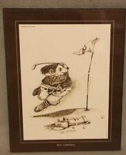 """""""Self Control"""" golfer golfing wall plaque by Gary Patterson"""