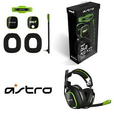 Astro Gaming TR A40 Mod Kit Third Generation Noise Canceling Green Black Boxed