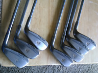 Men right handed steel low profile Dunlop Blue Max IRON SET 3-9  Men RH