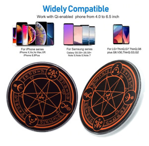 Wireless Fast Charger Magic Optical Array Circle 10W Phone Charger