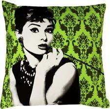 übergrosses Designerkissen Audrey grün 60x60