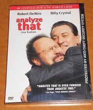 Analyze That (DVD, 2003, Widescreen) New