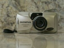 Olympus Infinity Stylus Epic Zoom 80 Point & Shoot Film Camera TESTED & WORKING