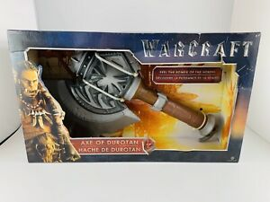 Warcraft Axe of Durotan WoW Horde Cosplay Toy Legendary Collectible New