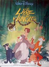JUNGLE BOOK - WALT DISNEY - REISSUE LARGE FRENCH MOVIE POSTER