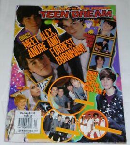 TEEN DREAM MAGAZINE 2010 JUSTIN BIEBER CODY SIMPSON BURNHAM BROTHERS LADY GAGA
