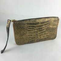 The Find -  Faux Gold Leather Hand Purse