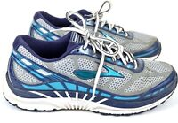 Brooks Dyad 8 Womens Running Shoes Sneakers Size 9.5 Gray Blue Athletic