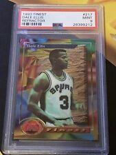 1993 Topps Finest - Dale Ellis - PSA 9- Refractor - Super Rare SP - #217