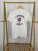 VTG Team Korea 1988 Seoul Olympics Single Stitch Thin T-Shirt Size L