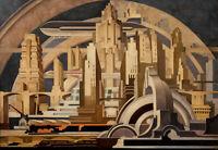 Tullio Crali : Architecture : 1939 : Archival Quality Art Print