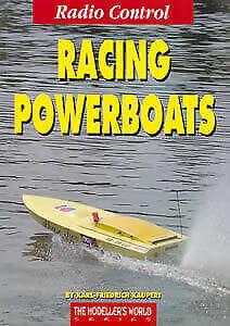 Radio Control Racing Powerboats - Model Speed Boat Book - by Karl-Friedrich K...