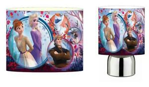FROZEN 2 b DRUM LIGHTSHADE & TOUCH LAMP SET KIDS FREE P+P and FREE GIFT