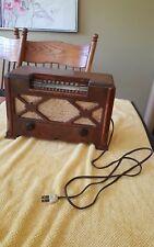 Vintage Farnsworth Wooden Tube Radio ET-066