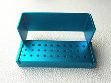 Dental 30 Holes Bur Holder Stand Autoclave Disinfection Box Case B004 1pc