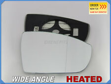 Wing Mirror Glass FORD GALAXY S-MAX 2006-15 Wide Angle HEATED Right Side #D034