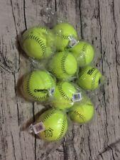"""Worth 12"""" Super Gold Dot - Classic (lot Of 9) Softballs"""