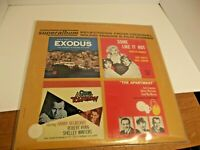 Vintage LP Record Exodus, Some Like It Hot, Odds Against Tomorrow,  Soundtrack